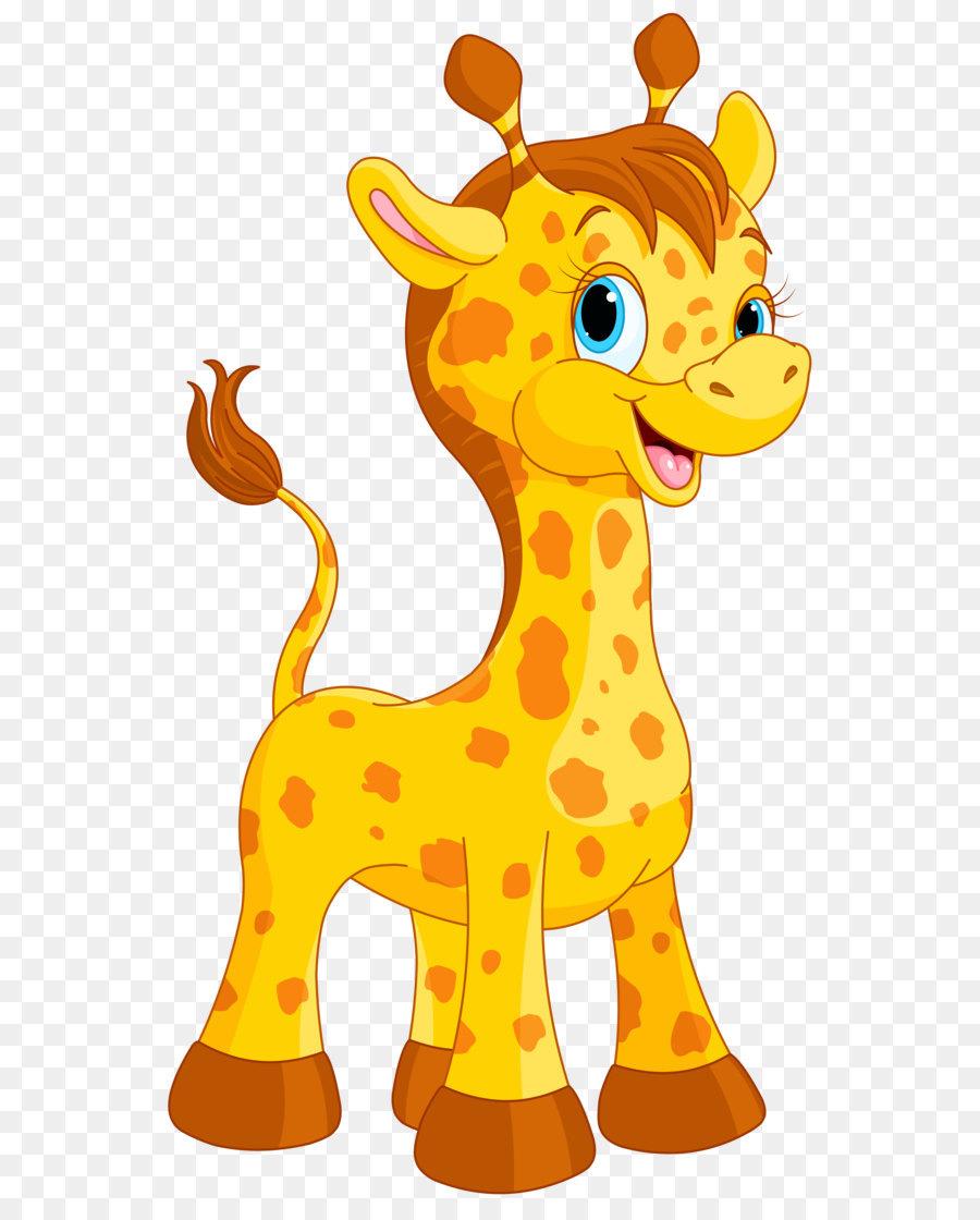 Girafa Cartoon Animacao Png Transparente Gratis