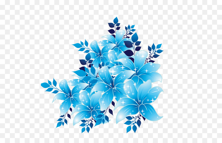Flor, Azul, Céu Azul