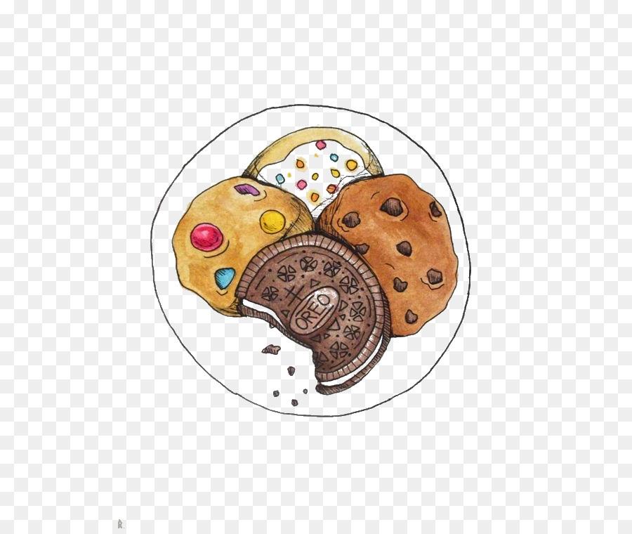 Chocolate Chip Cookie Desenho Cookie Png Transparente Gratis