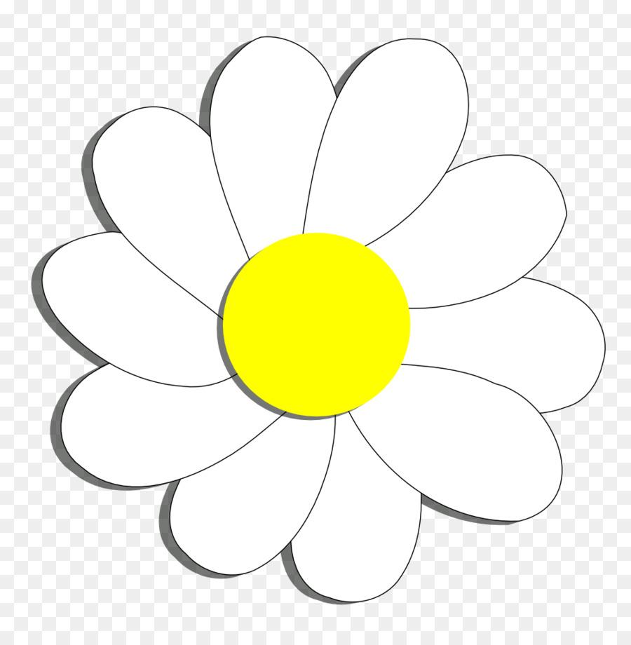 Flor Comum Daisy Livro De Colorir Png Transparente Gratis