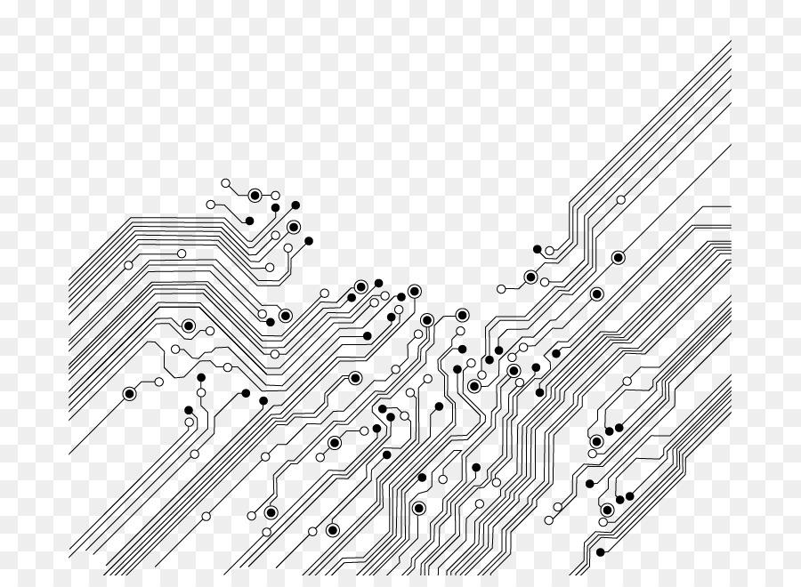 circuito eletr u00f4nico  placa de circuito impresso  eletr u00f4nica