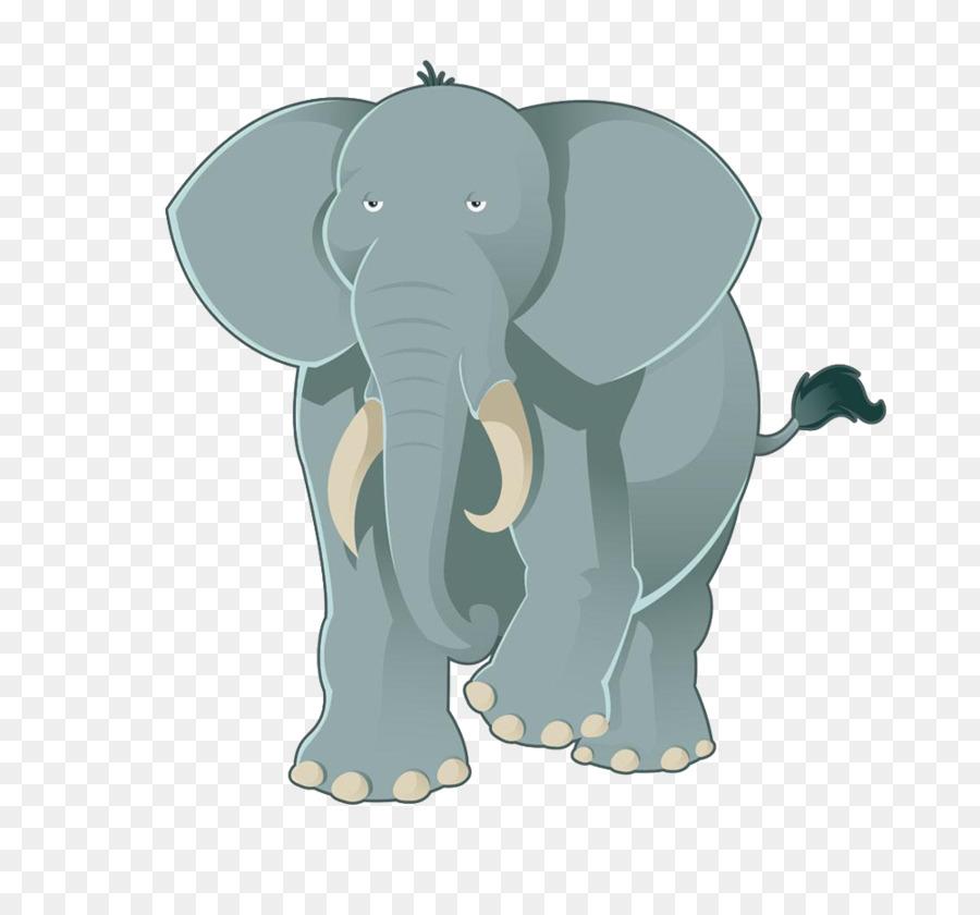 Cartoon Desenho Elefante Png Transparente Gratis