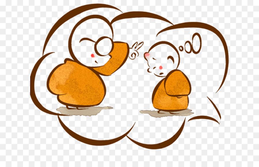 Dos Desenhos Animados Bhikkhu Samanera Png Transparente Gratis
