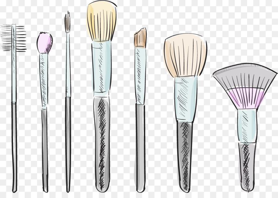 Maquiagem Escova Cosmeticos Escova Png Transparente Gratis