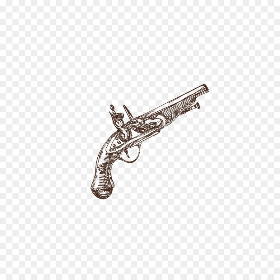 Desenho Arma De Fogo Pistola