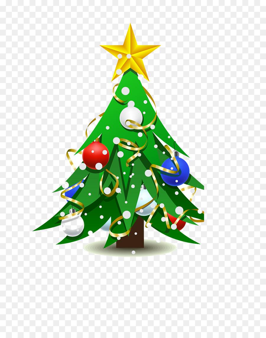 Arvore De Natal Desenho Enfeite De Natal Png Transparente Gratis