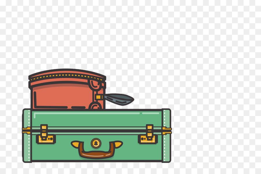 Cartoon Desenho Mala De Viagem Png Transparente Gratis