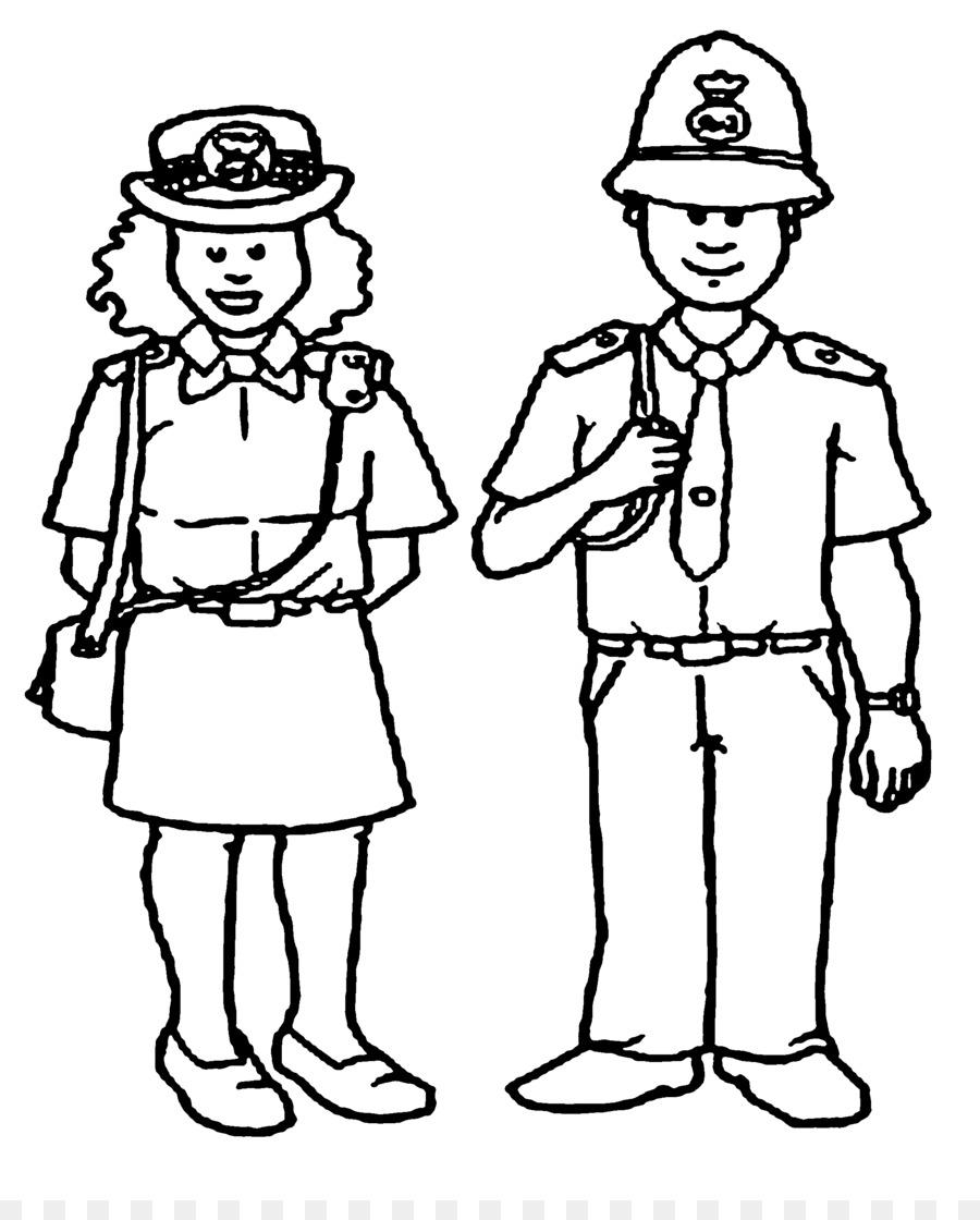 Policial Livro De Colorir Policia Png Transparente Gratis