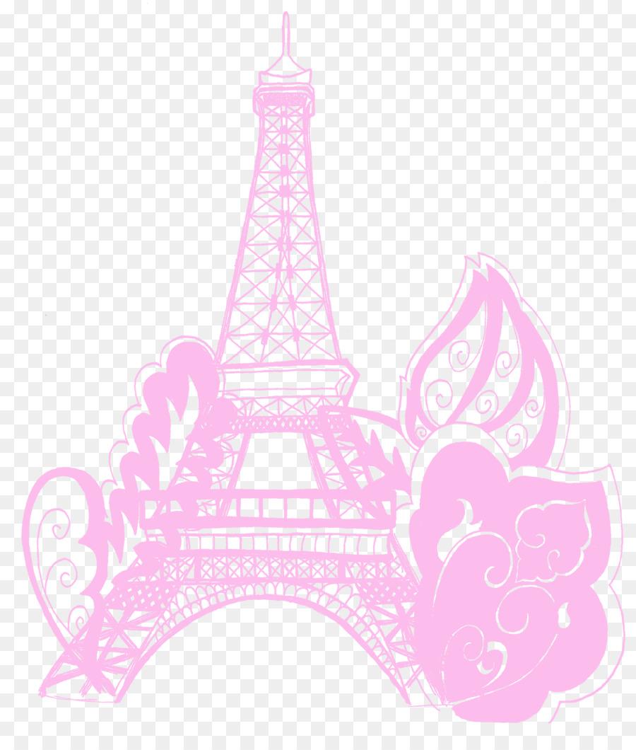 Torre Eiffel Ponte De Portao Dourada Livro De Colorir Png