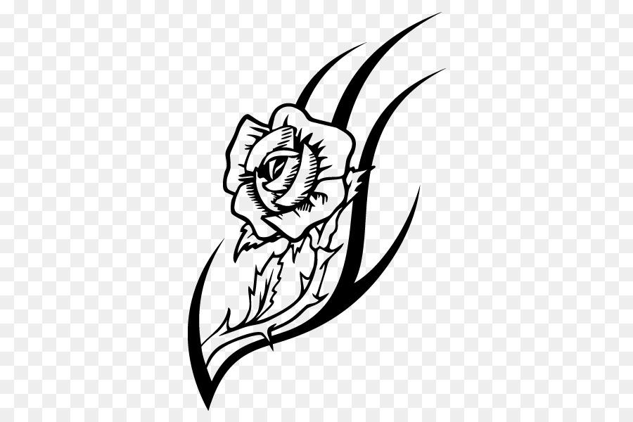 Rosa Tatuagem Desenho Png Transparente Gratis
