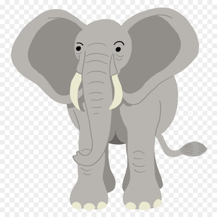 Elefante Africano Elefante Desenho Png Transparente Gratis