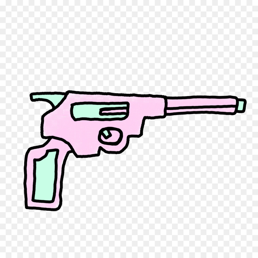 Desenho Arma De Fogo Pastel Png Transparente Gratis