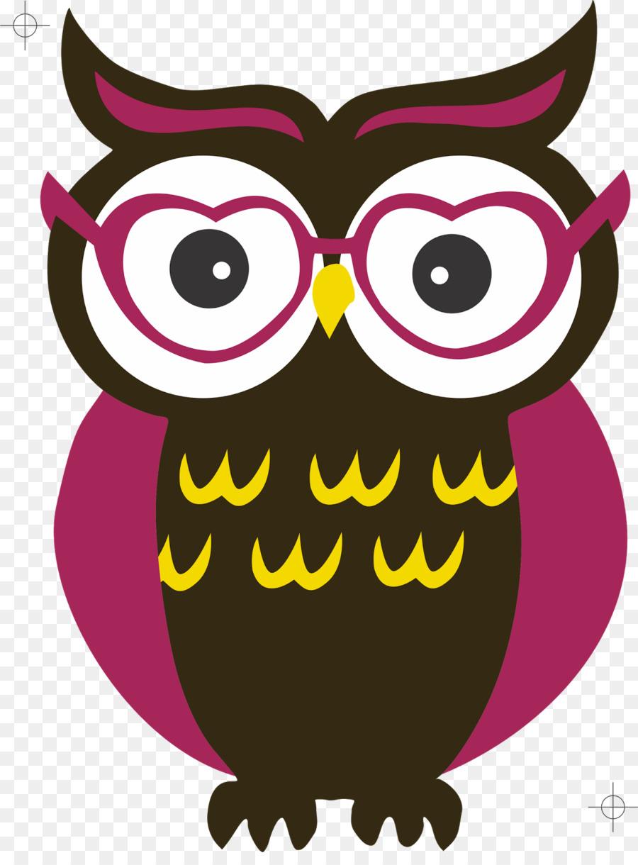 Coruja Oculos Lente Png Transparente Gratis