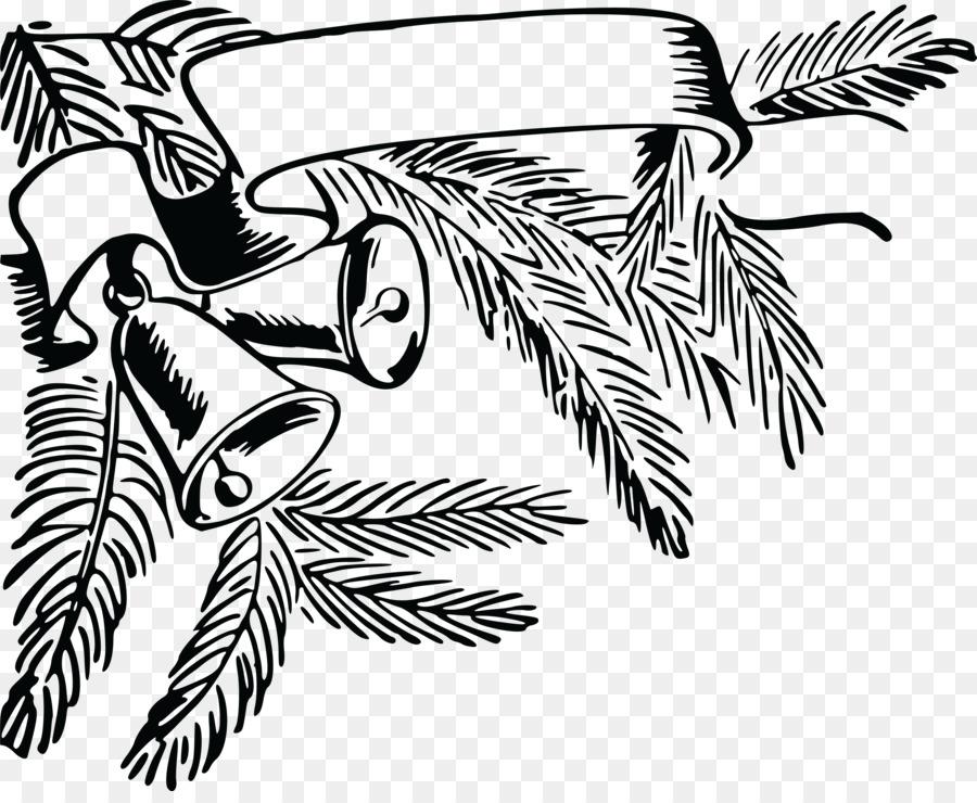 Preto E Branco De Natal Jingle Bell Desenho Clip Art Sino