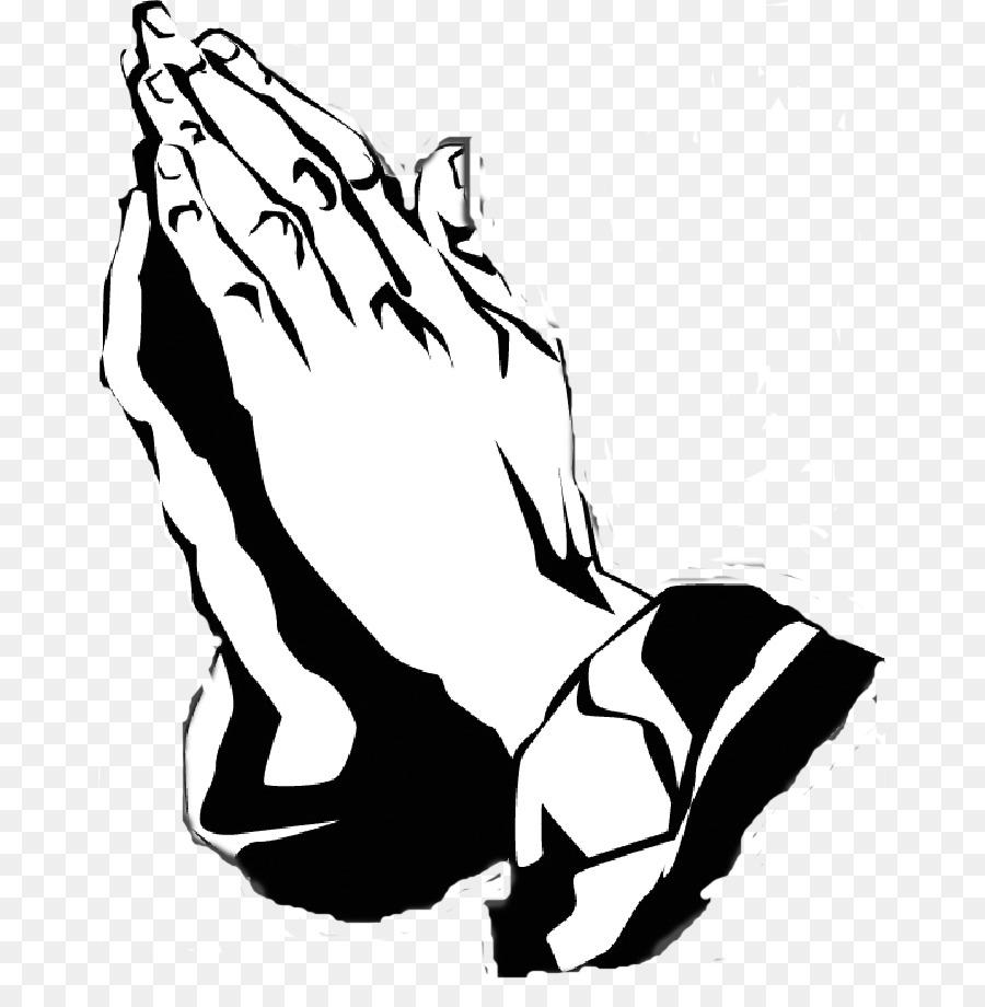 Orando De Maos Oracao Desenho Png Transparente Gratis