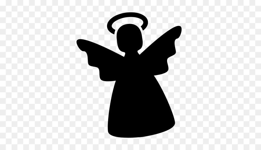 Silhueta Icones Do Computador Anjo Png Transparente Gratis