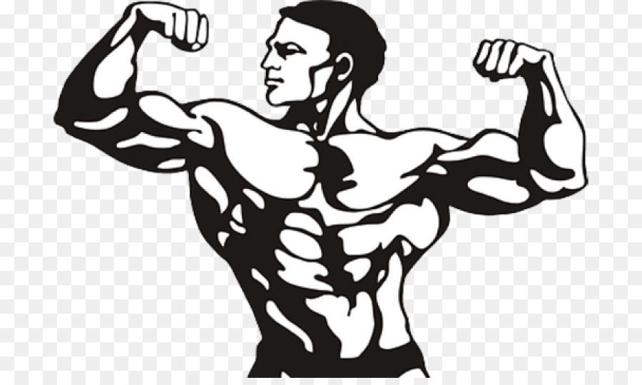 Musculacao Desenho Muscular Png Transparente Gratis