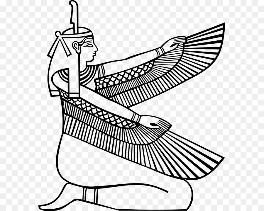 Egito Antigo Maat Livro De Colorir Png Transparente Gratis