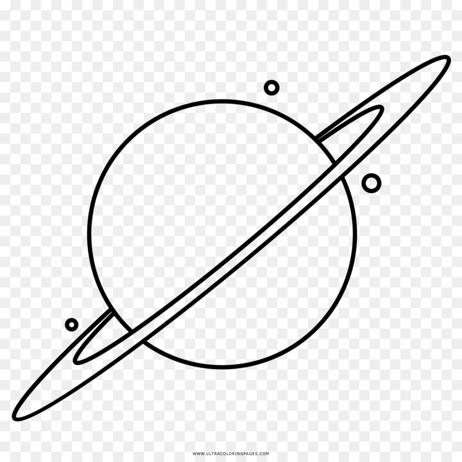 Saturno Desenho Livro De Colorir Png Transparente Gratis