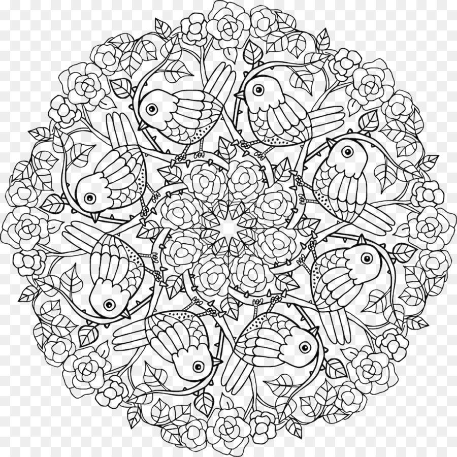 Natureza Mandalas Para Colorir Mandala Livro De Colorir