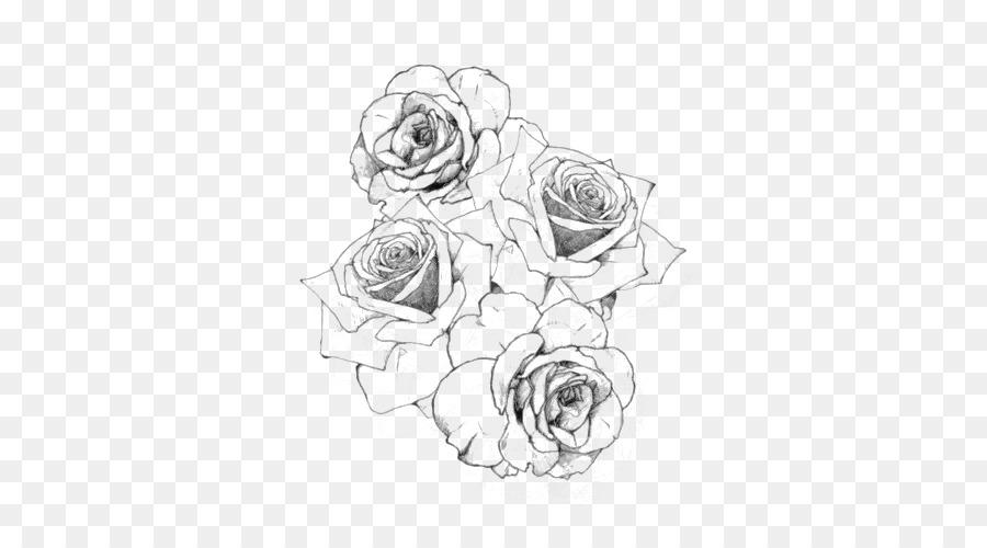 Tatuagem Rosa Desenho Png Transparente Gratis