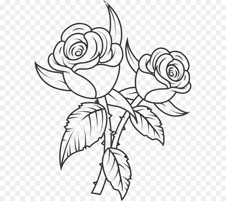Rosa Negra Desenho Clip Art Rosa Download Gratis 800