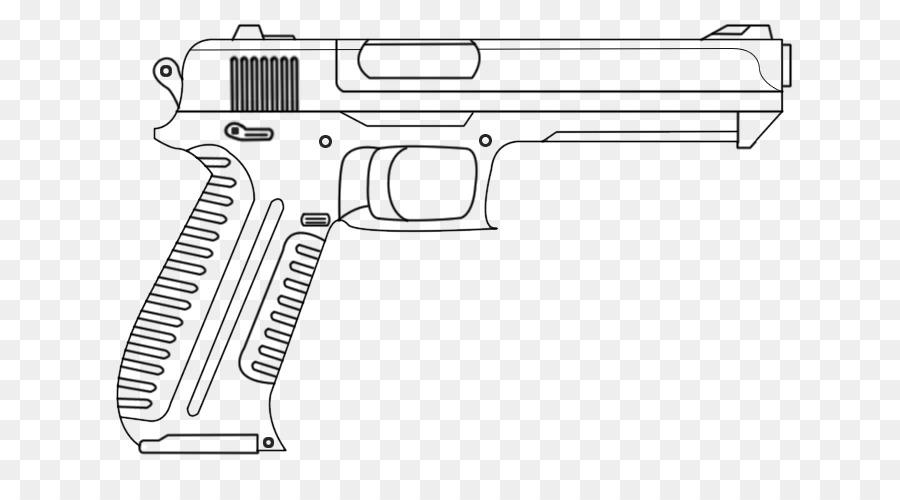 Pistola Desenho Arma De Fogo Png Transparente Gratis