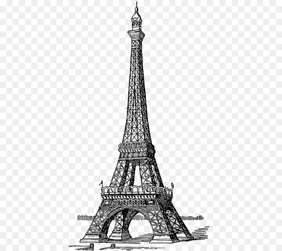 Torre Eiffel Desenho Livro De Colorir Png Transparente Gratis