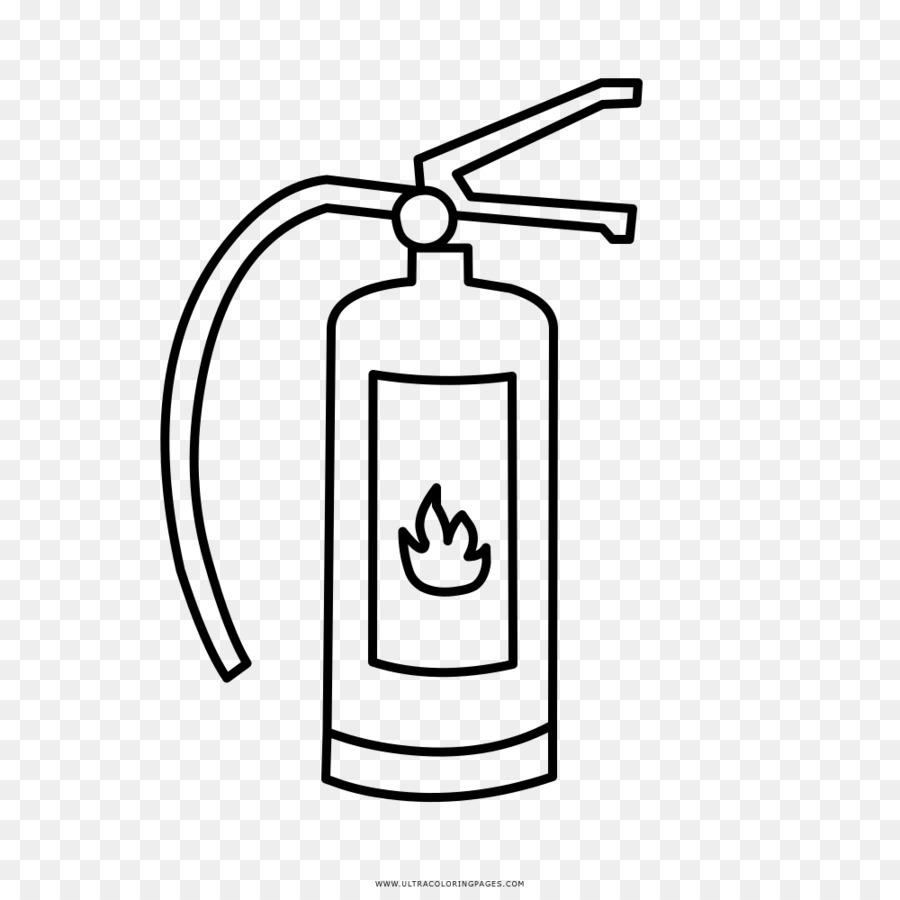 Extintores De Incendio Desenho Livro De Colorir Png Transparente