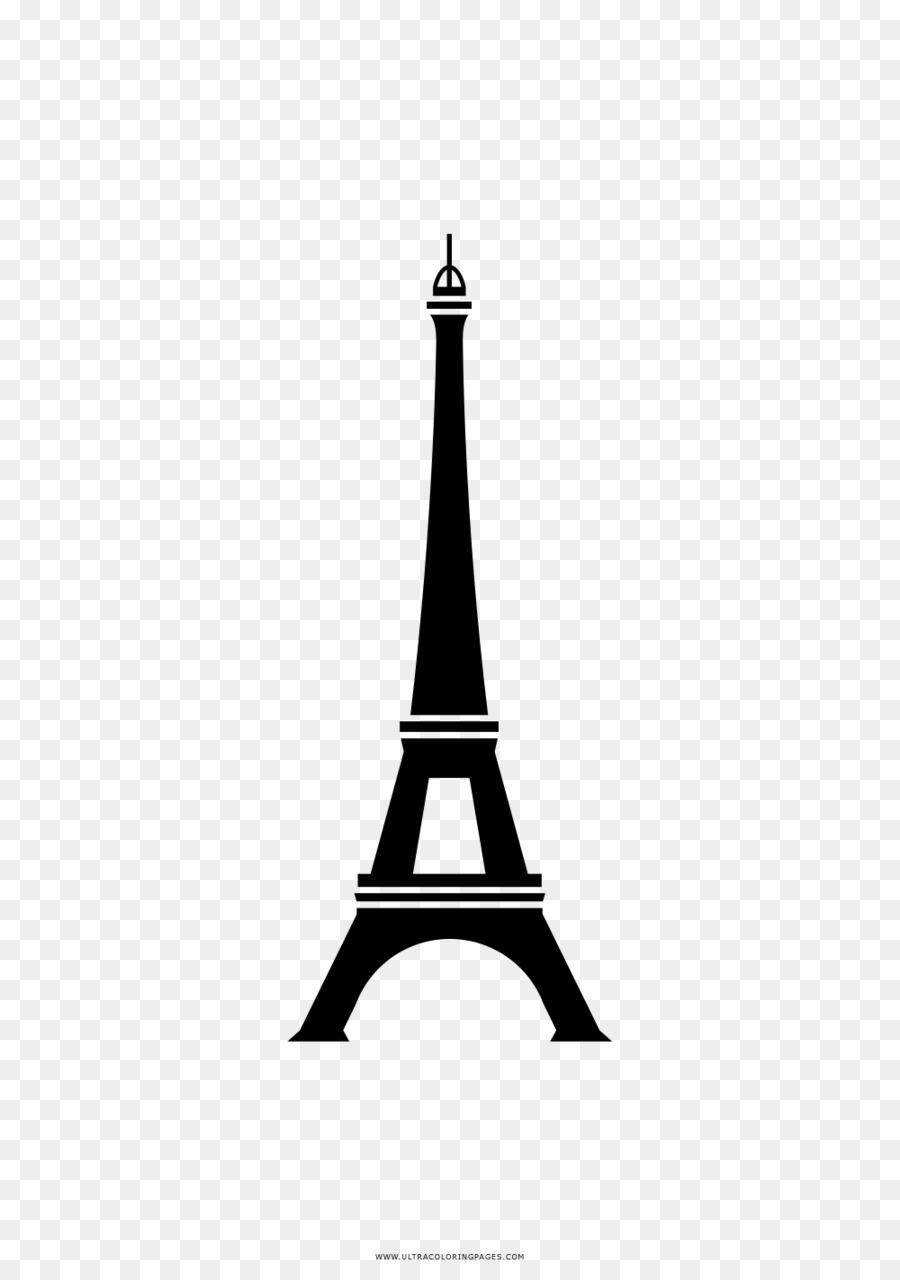 Torre Eiffel Livro De Colorir Desenho Png Transparente Gratis