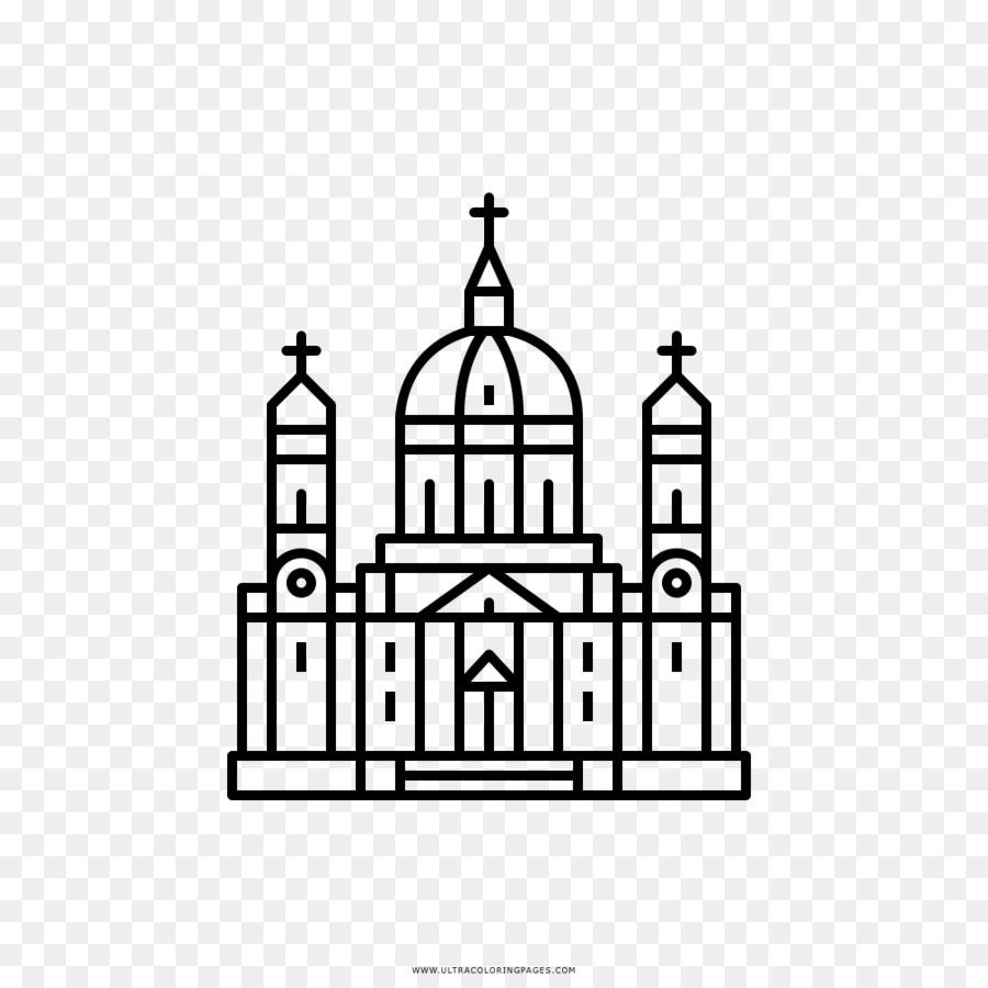 Desenho Igreja Livro De Colorir Png Transparente Gratis