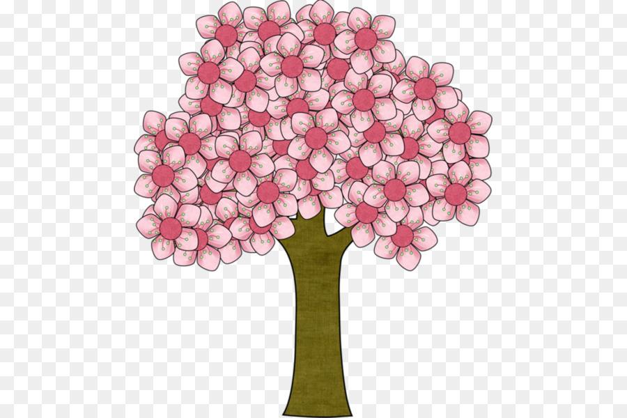 Flor Arvore Desenho Png Transparente Gratis