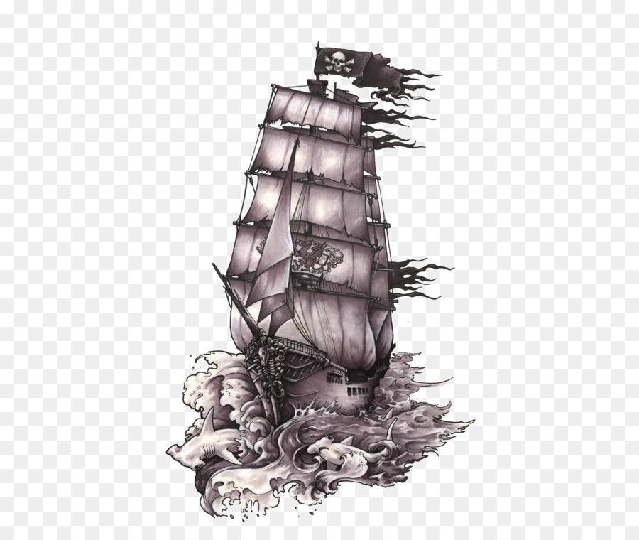 Desenho Navio Pirataria Png Transparente Grátis