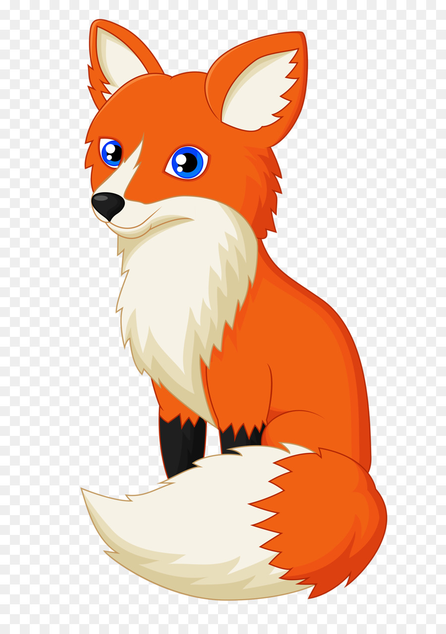 Desenho Raposa Vermelha Fox Png Transparente Gratis