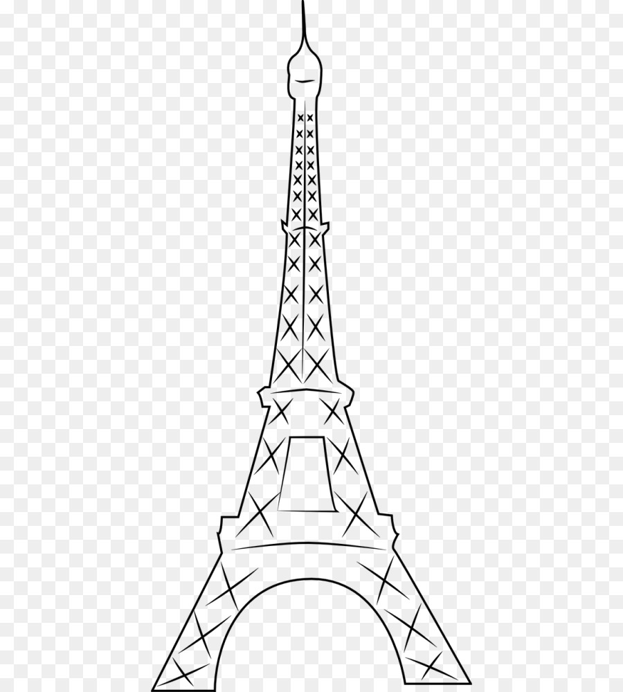 Torre Eiffel Torre Livro De Colorir Png Transparente Gratis