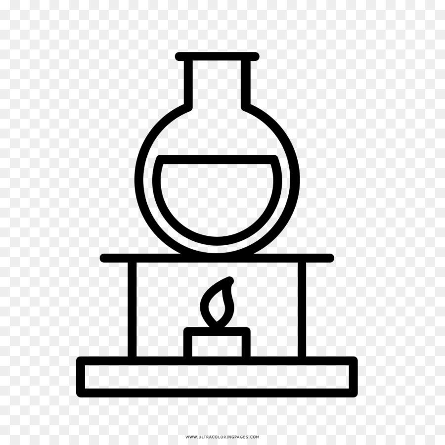 Desenho Quimica Livro De Colorir Png Transparente Gratis