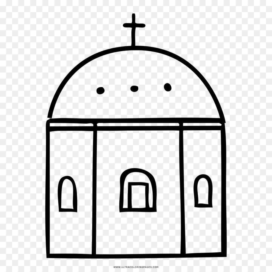 Igreja Desenho Livro De Colorir Png Transparente Gratis