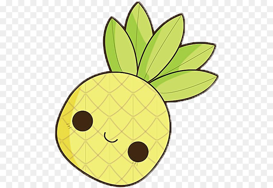 Abacaxi Desenho Frutas Tropicais Png Transparente Grátis