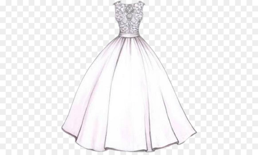 Desenho Vestido Vestido De Noiva Png Transparente Grátis