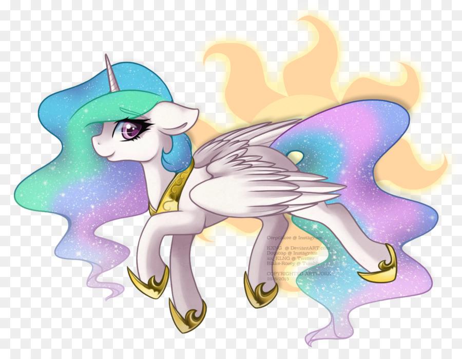 Cavalo Fada Desenho Animado Png Transparente Gratis