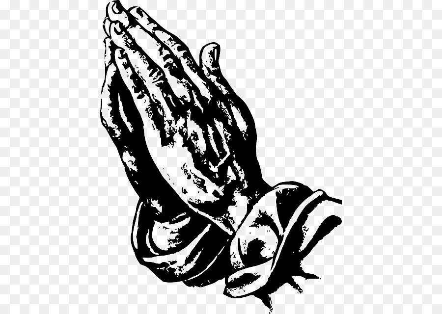Orando De Maos Desenho Oracao Png Transparente Gratis