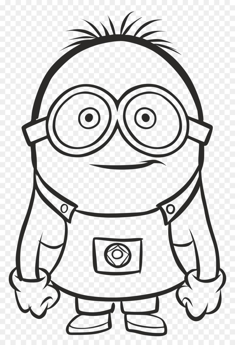 Gambar Kartun Minions Hitam Putih Wwwtollebildcom