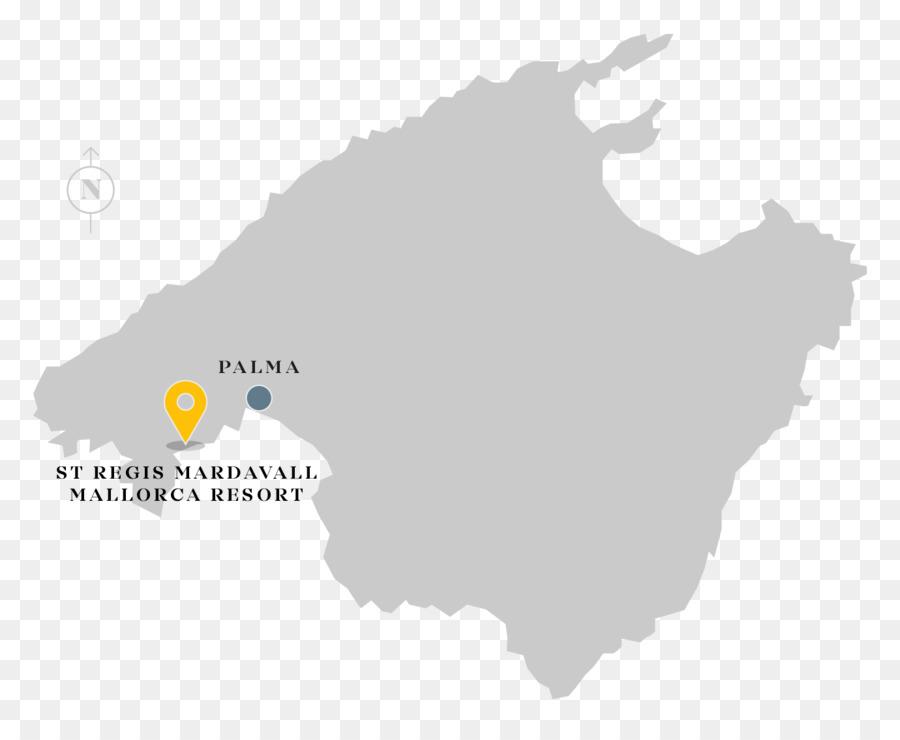 Palma De Maiorca Ilhas Baleares Mapa De Fotografia Stock Porto